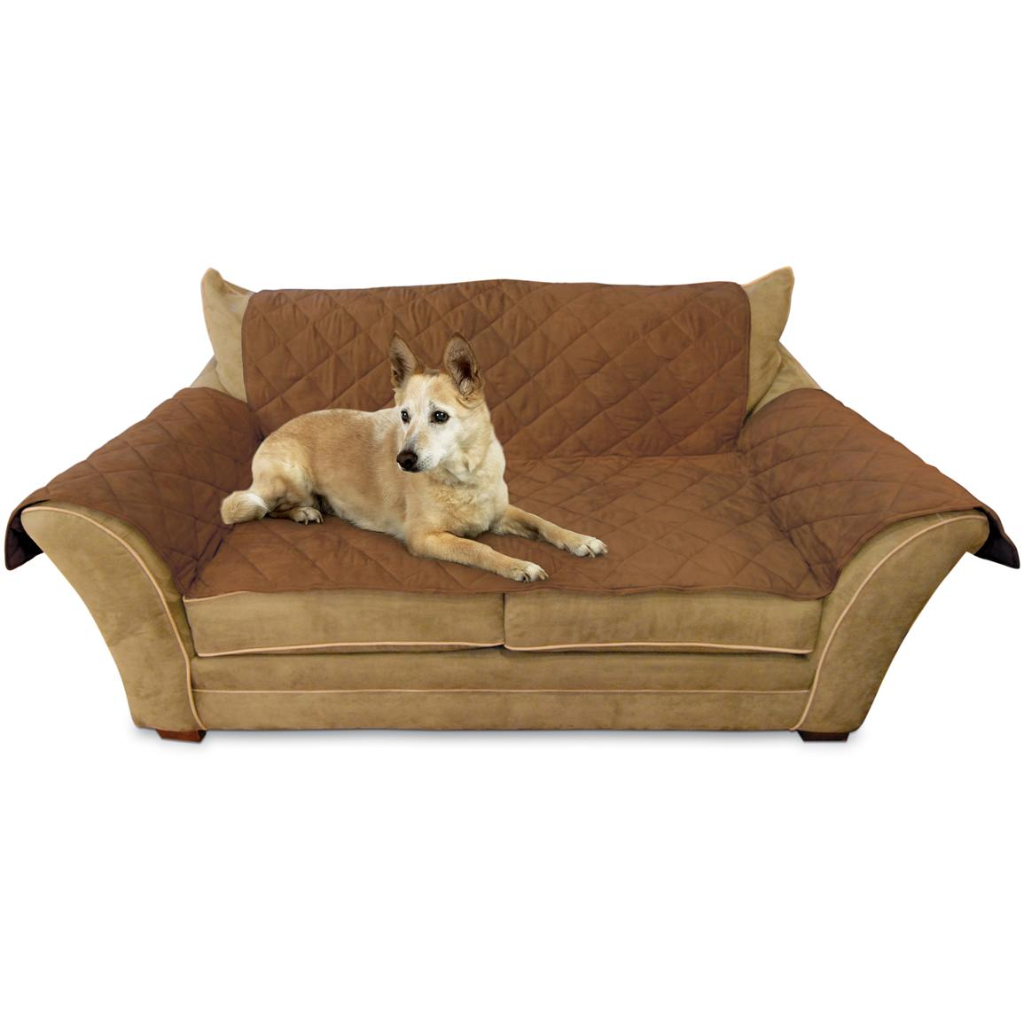 K&H Pet Products Furniture Cover™, Mocha - Loveseat