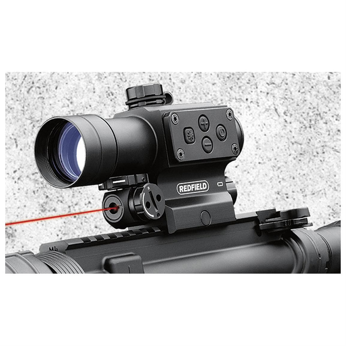 Redfield® Counterstrike™ Red / Green Dot Sight with Laser