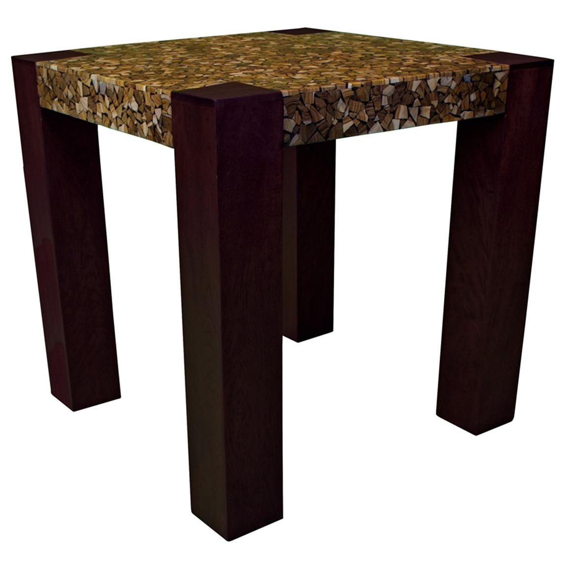 Groovy Stuff Teakwood Panache End Table
