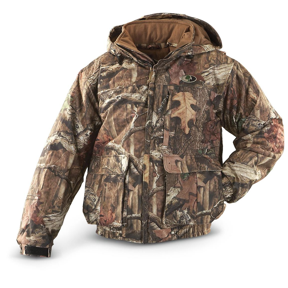 Russell Outdoors® Drystalker Hooded Jacket, Mossy Oak Break-Up® Infinity™
