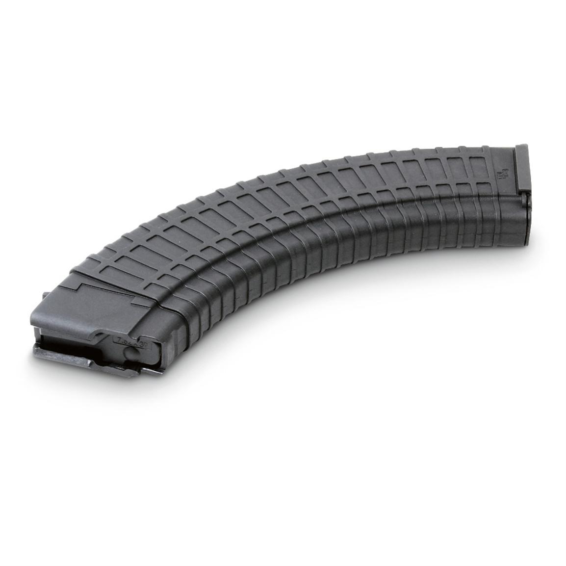 40-rd. AK-47 7.62x39mm Mag, Black