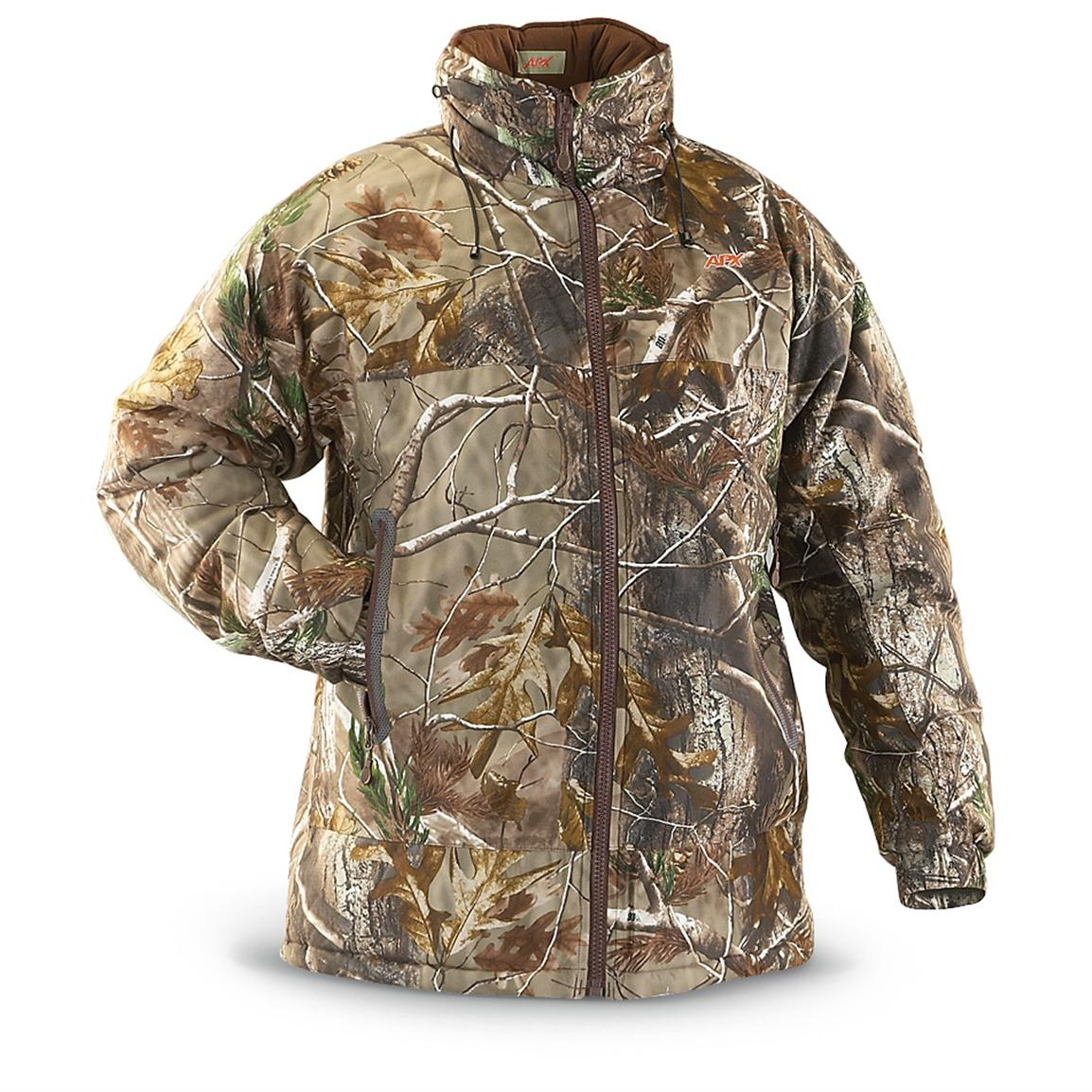 Russell Outdoors® L5 Whiteout Parka, Realtree® AP™; Water repellent; Wind resistant; Highly compressible