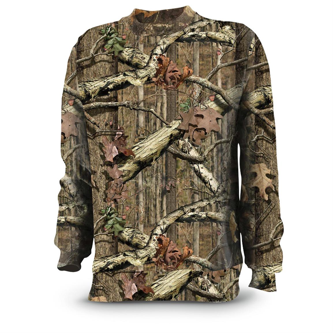 Russell Outdoors® Woodstalker II™ Sweatshirts, Mossy Oak® Break-Up® Infinity™