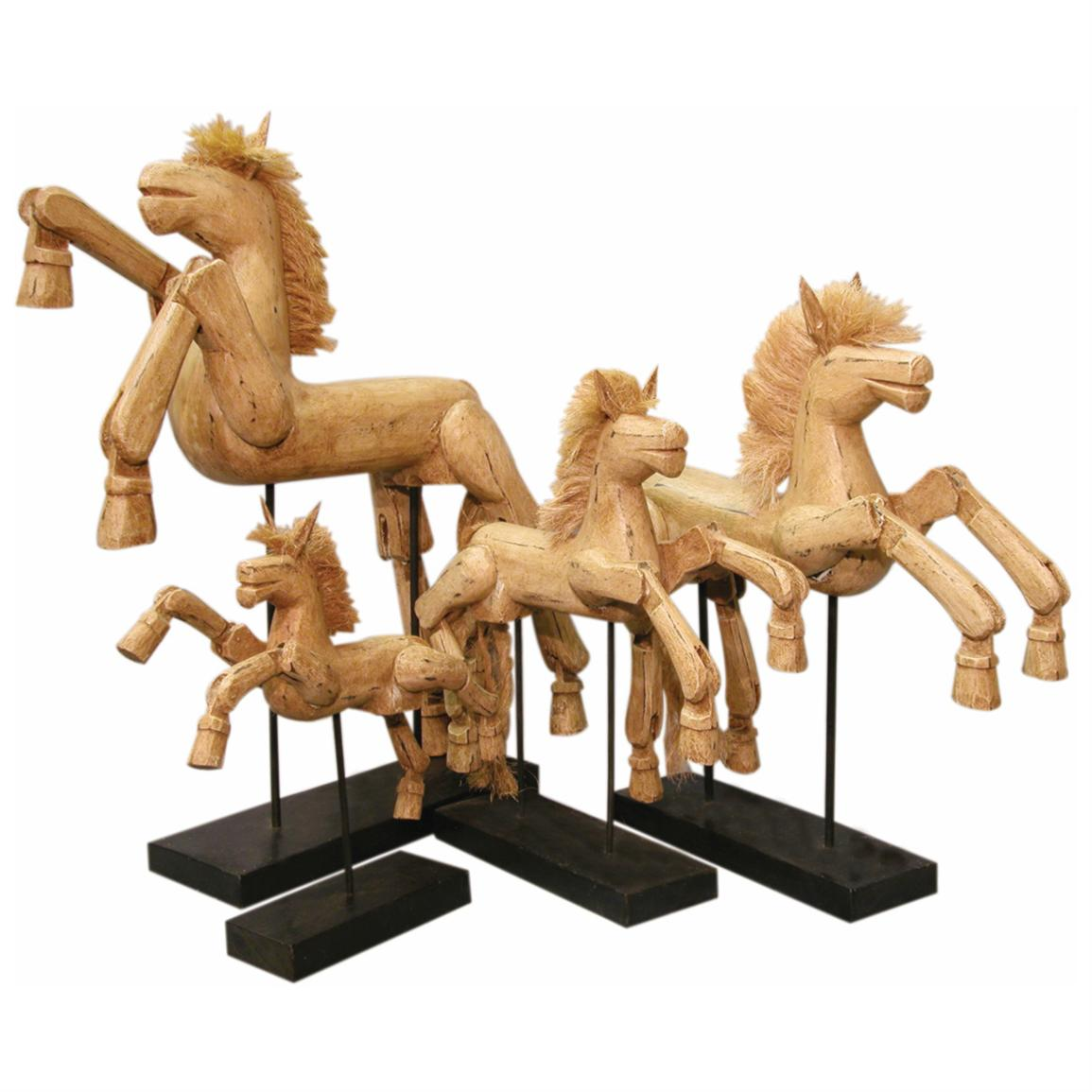 Groovy Stuff® Large Hinged Horse on Stand