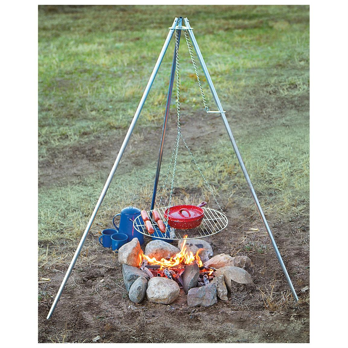 Camp Chef® Lumberjack Over-the-fire Tripod Grill