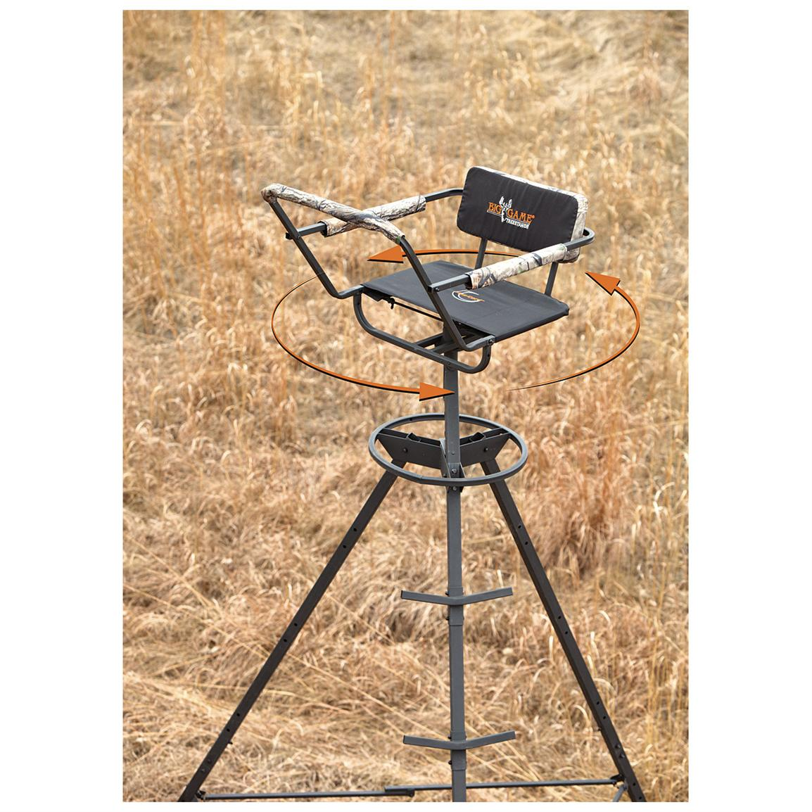 Big Game® 12 foot Portable Pursuit® Tripod Stand
