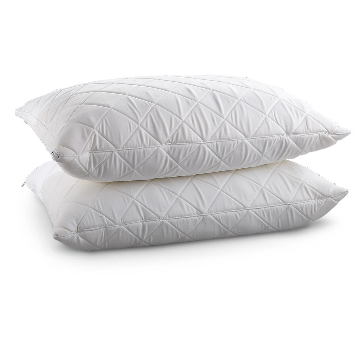 Wellrest™ Quilted Memory Foam Pillow