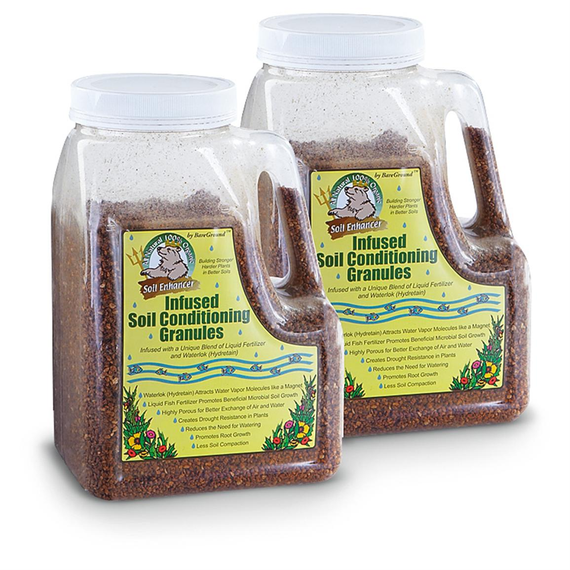 2-Pk. of 5-lb. Bottles of Infused Soil Conditioning Granules
