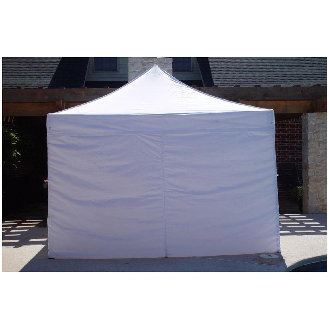 10x10 foot DuraLite Instant 4-wall Canopy by King Canopy