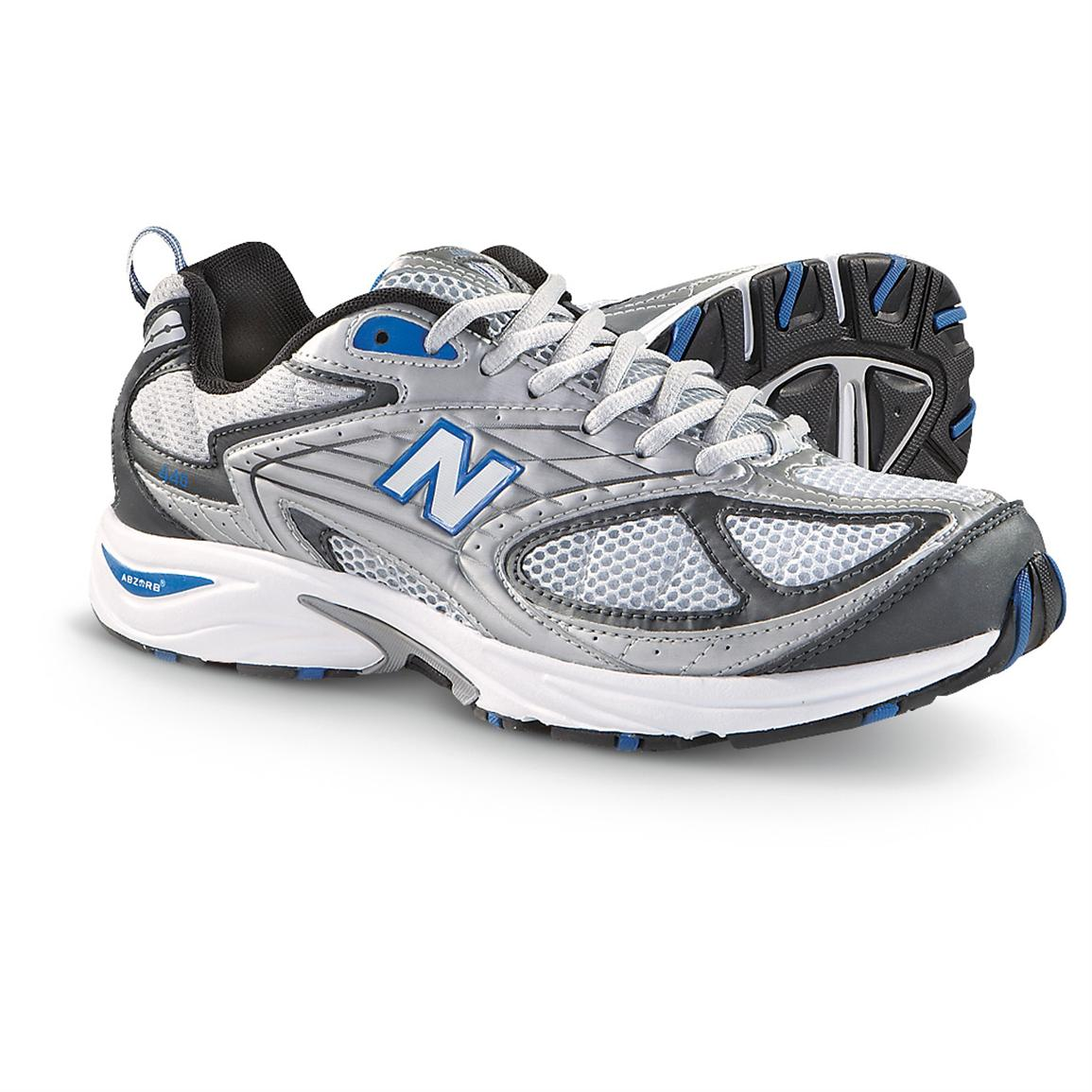 Men's New Balance® 440 Running Shoes, Blue / Silver / White
