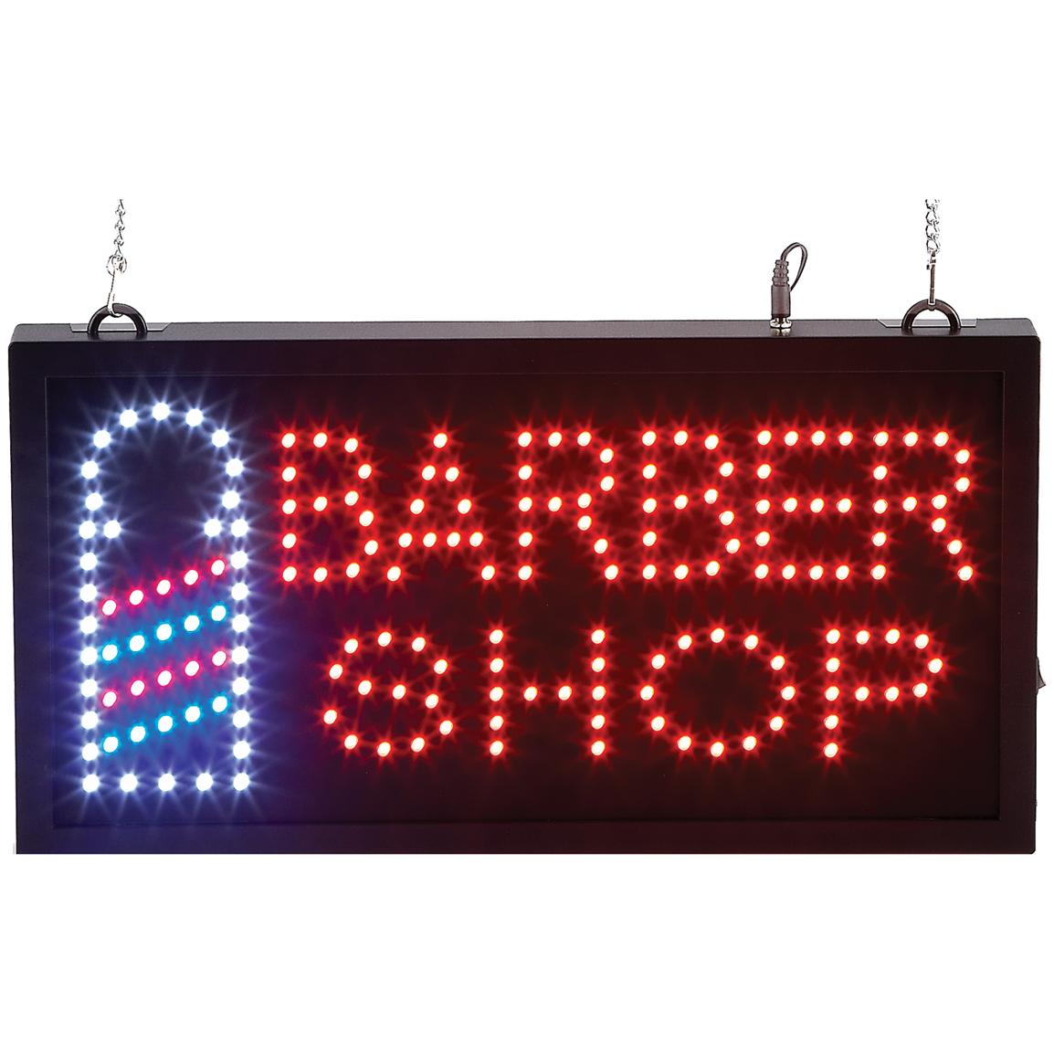 Mitkati-Japan™ Barber Shop Programmed LED Sign