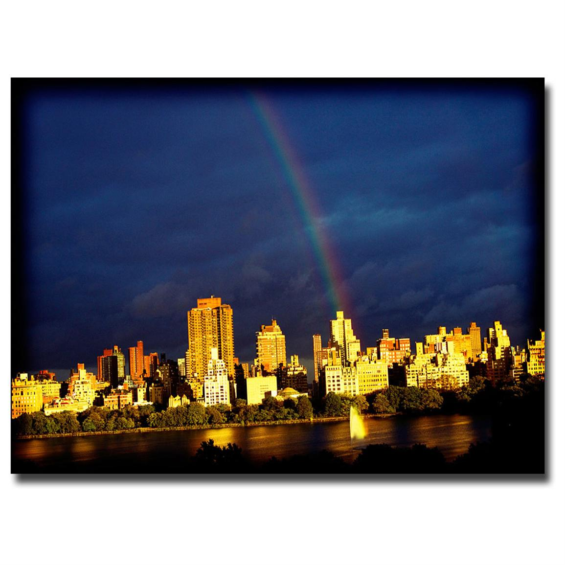 """City Rainbow"" Canvas Art by Ariane Moshayedi"