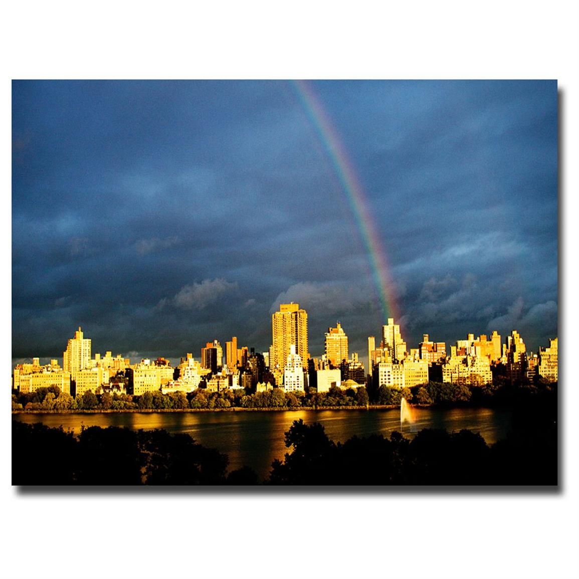 """City Rainbow II"" Canvas Art by Ariane Moshayedi"