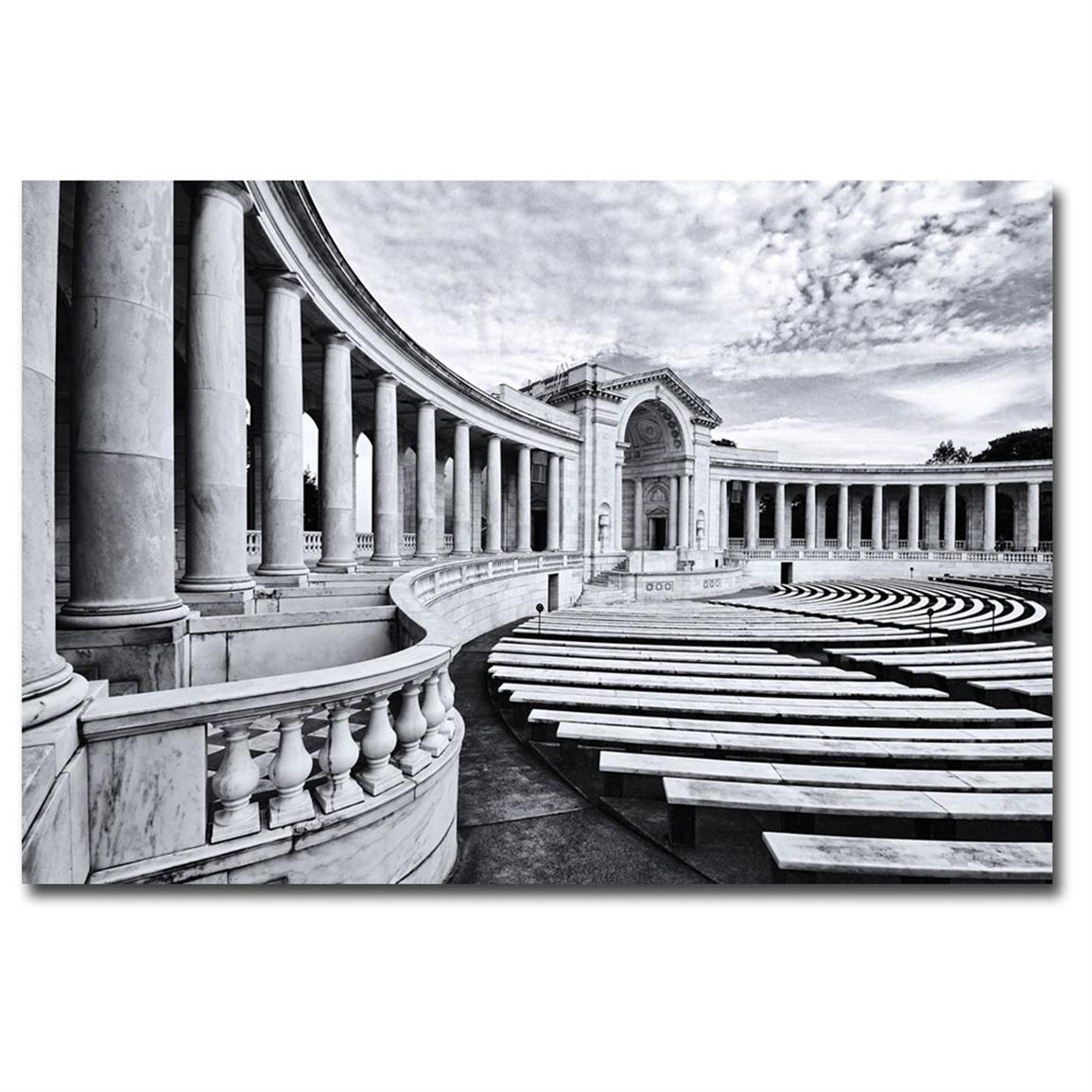 """Arlington National Cemetery Ampitheater"" Canvas Art by Gregory Ohanlon"