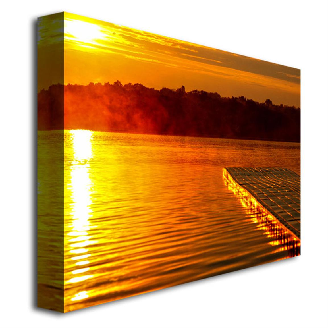 UV-coated water-resistant canvas, wood frame