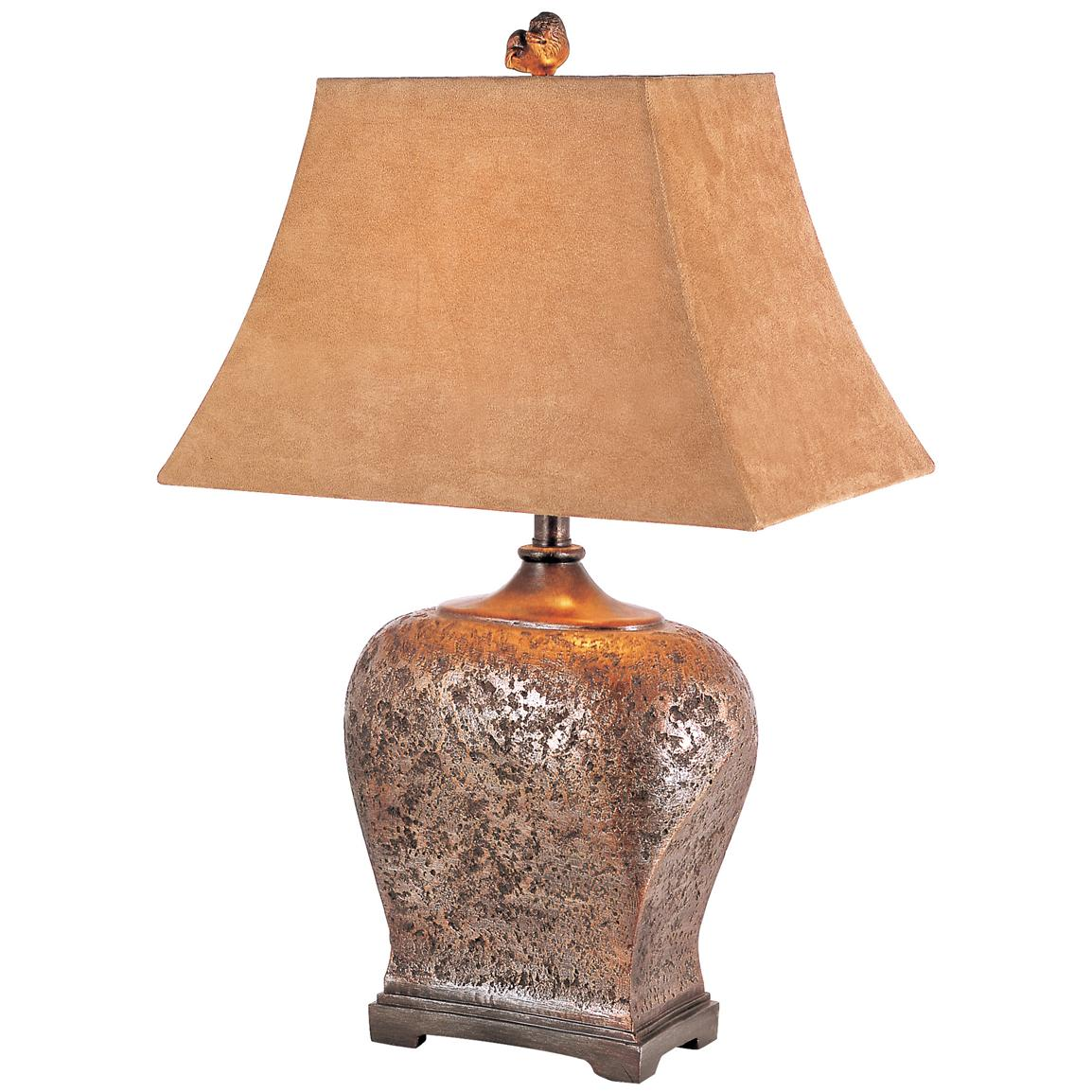 Trans Globe Lighting® Rustic Tanned Table Lamp