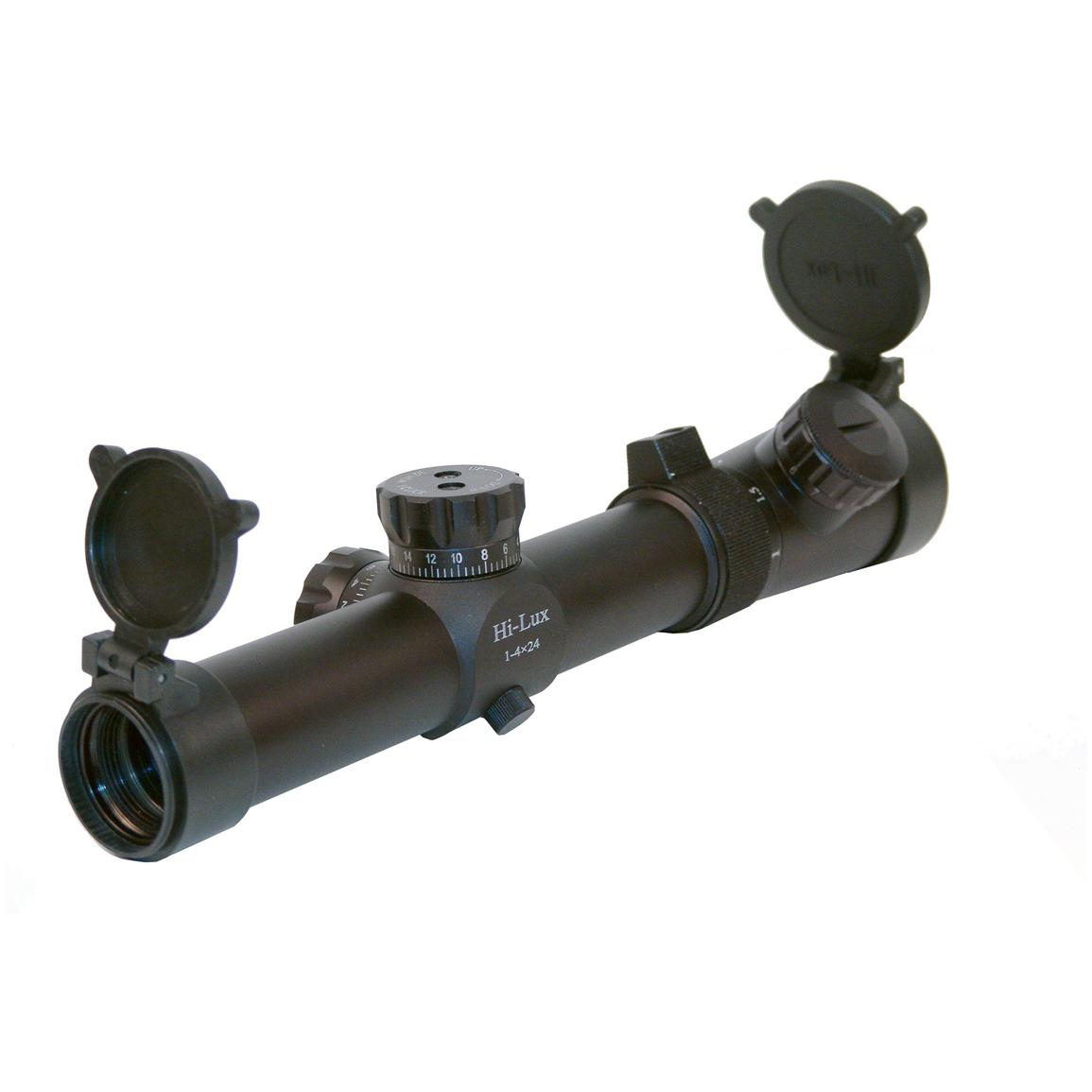 Hi-Lux 1-4x24 CMR-AK762 Scope