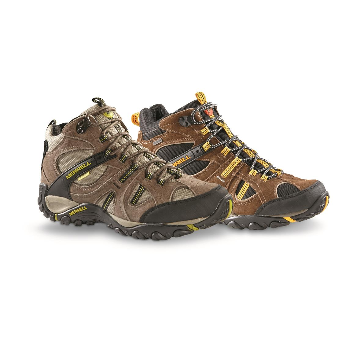 Merrell Men's Yokota Trail Mid Waterproof Hiking Shoes