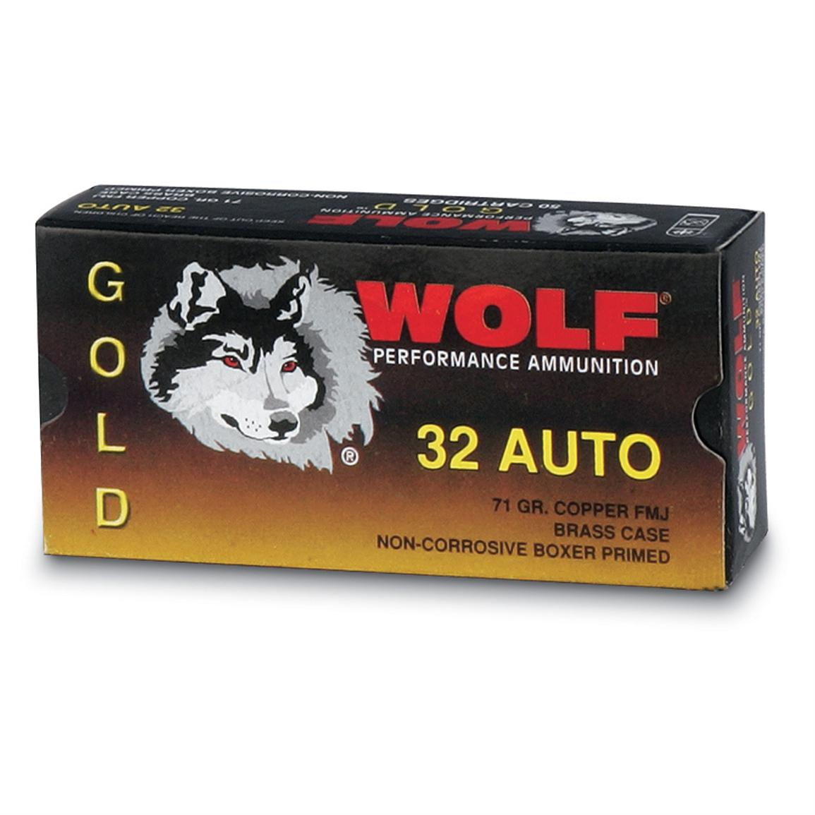 Wolf® Gold Line Rifle Ammo .30-30 Win® 150 Grain SP 20 rounds