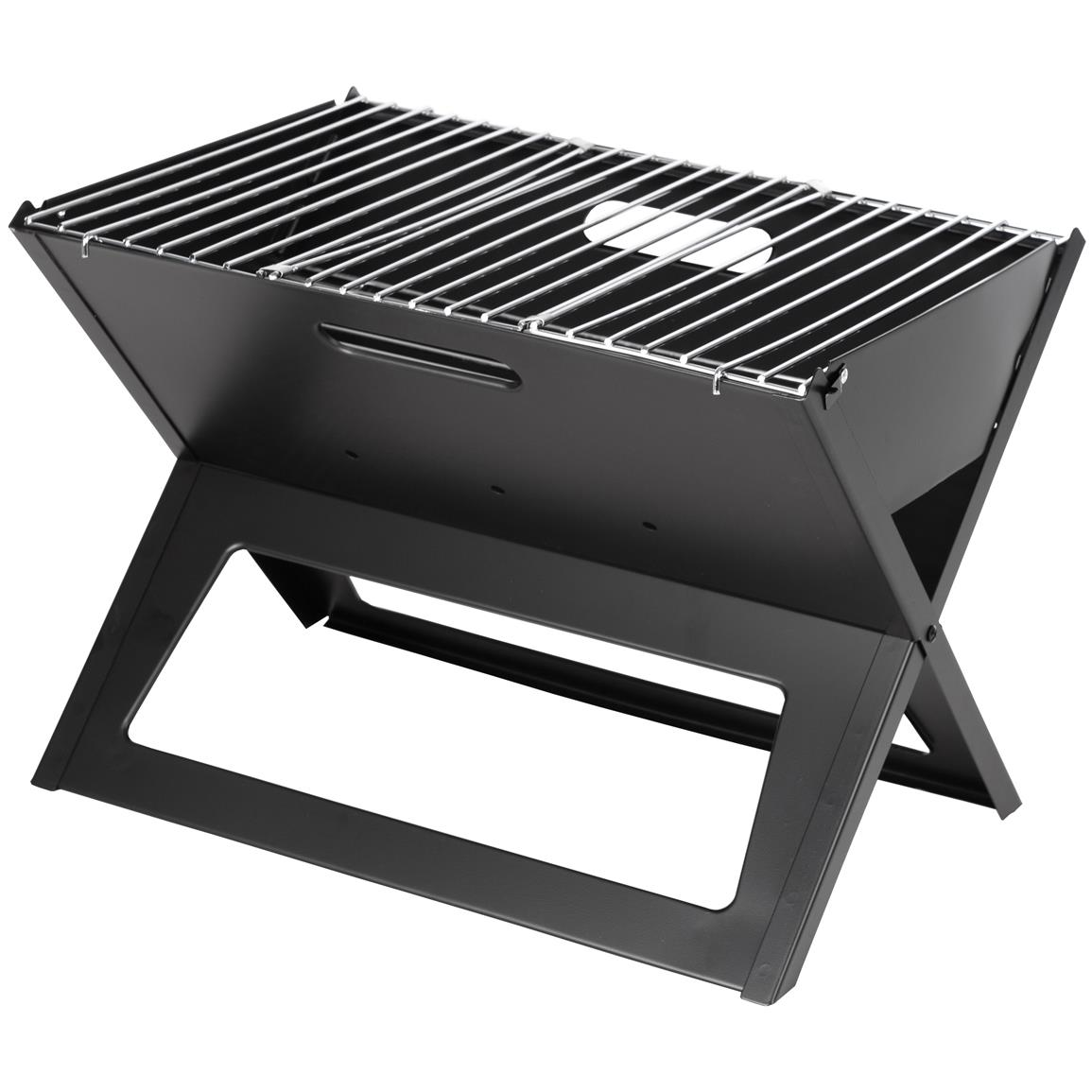 notebook charcoal grill black 281324 grills smokers