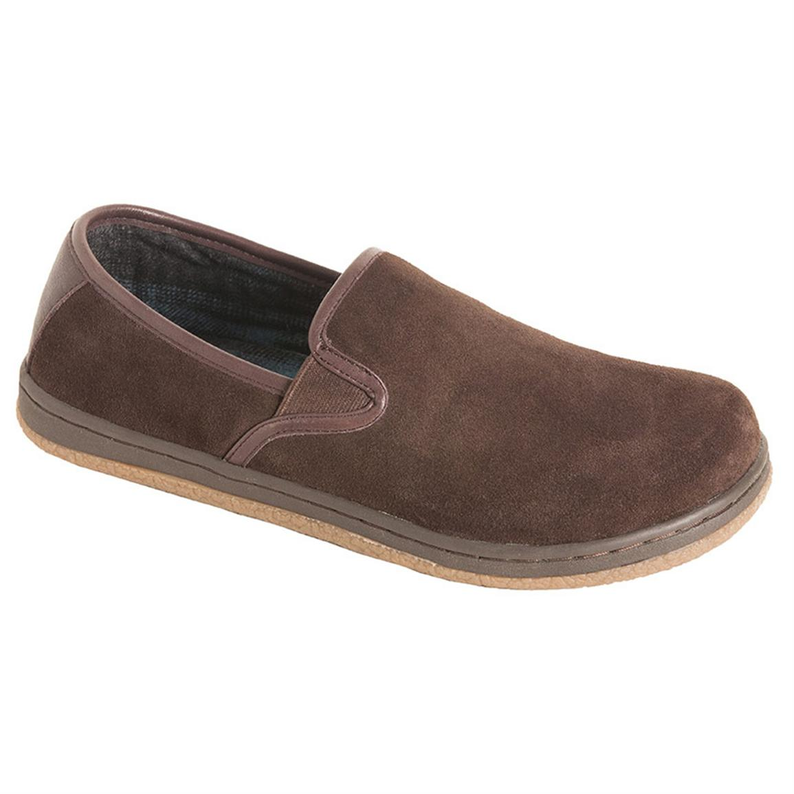 Men's L. B. Evans® Reese Slippers, Chocolate