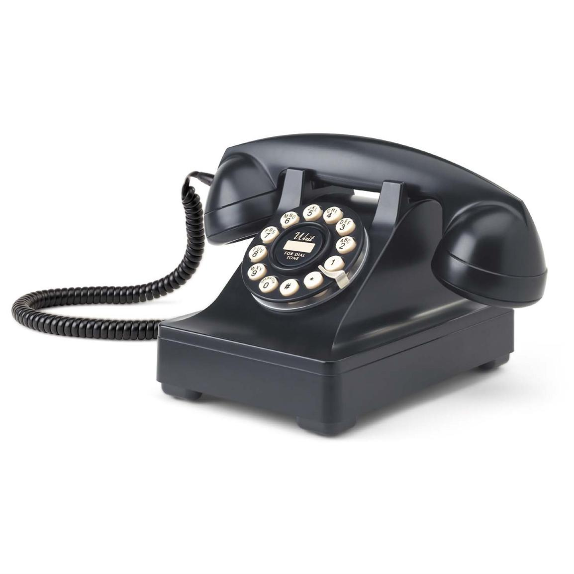 Crosley® Kettle Desk Phone, Black