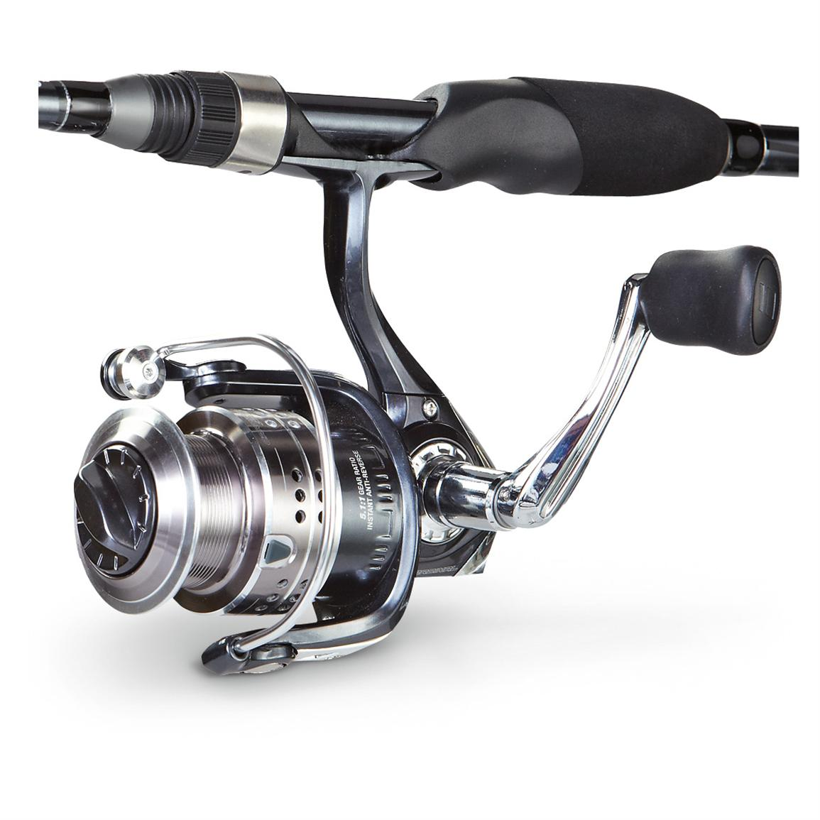 Abu garcia cardinal stx spinning 2 pc rod and reel for Fishing rod reel combo