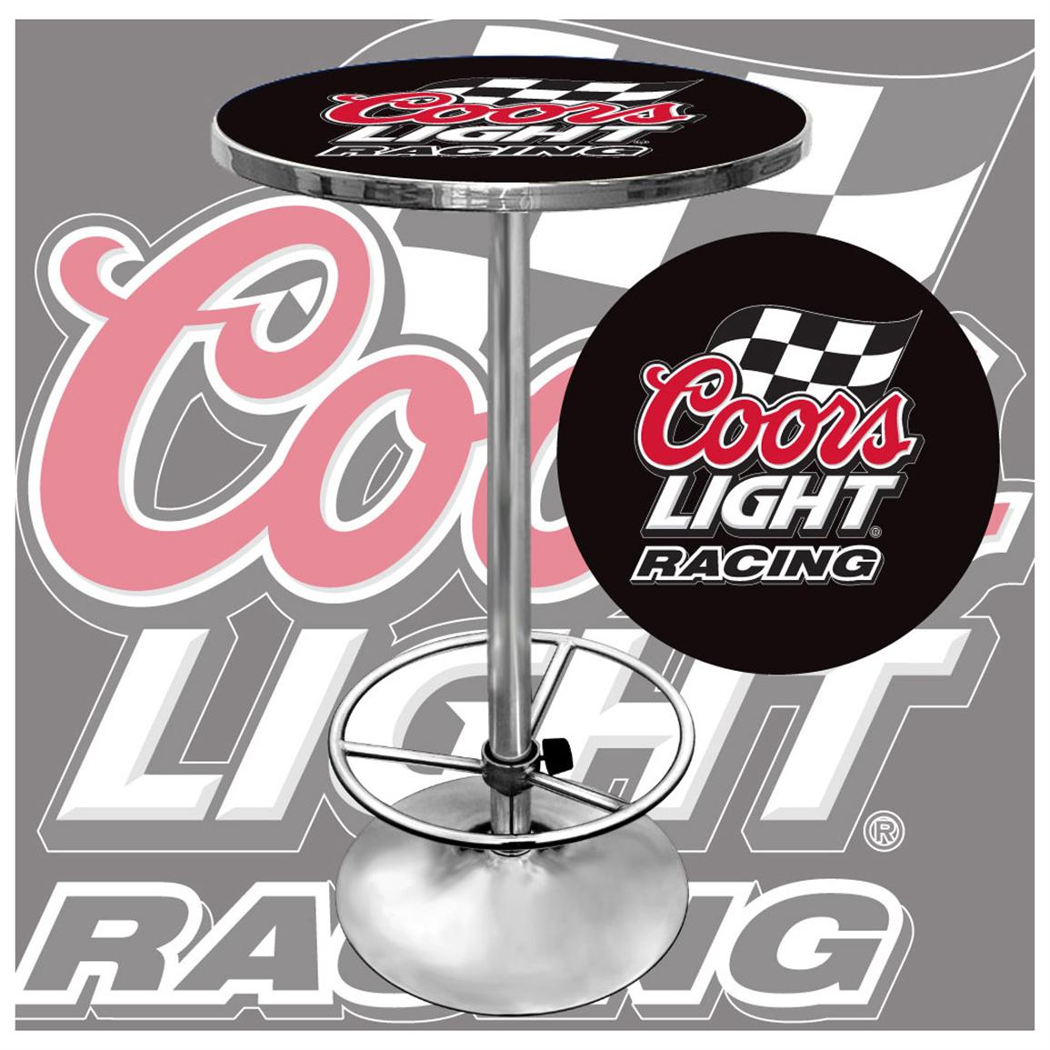 Coors Light® Racing Pub Table