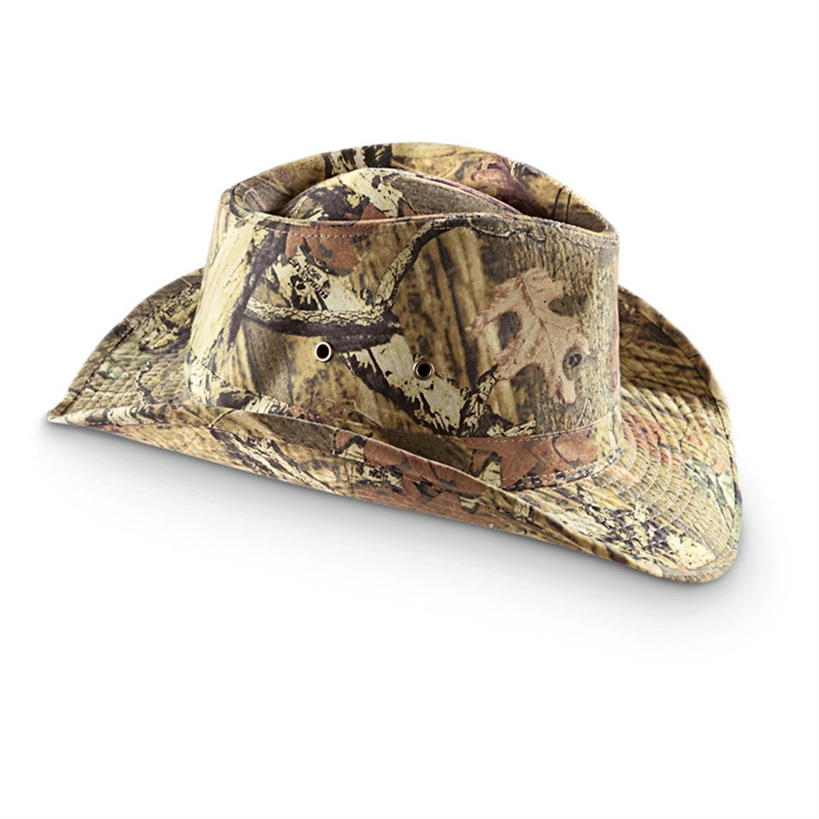 Mossy Oak® Shapeable Outback Hat, Infinity™ Camo