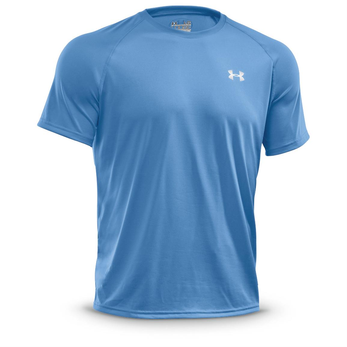 Under Armour Men's Tech Short-sleeved T-Shirt, Carolina Blue