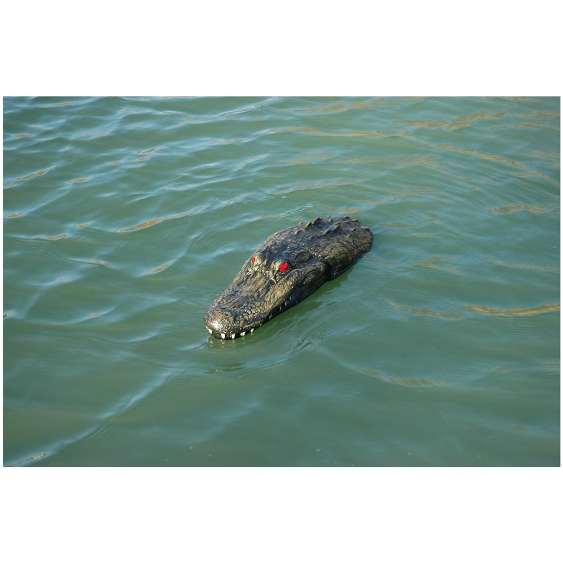 Outdoor Water Solutions 174 Floating Alligator Airstone