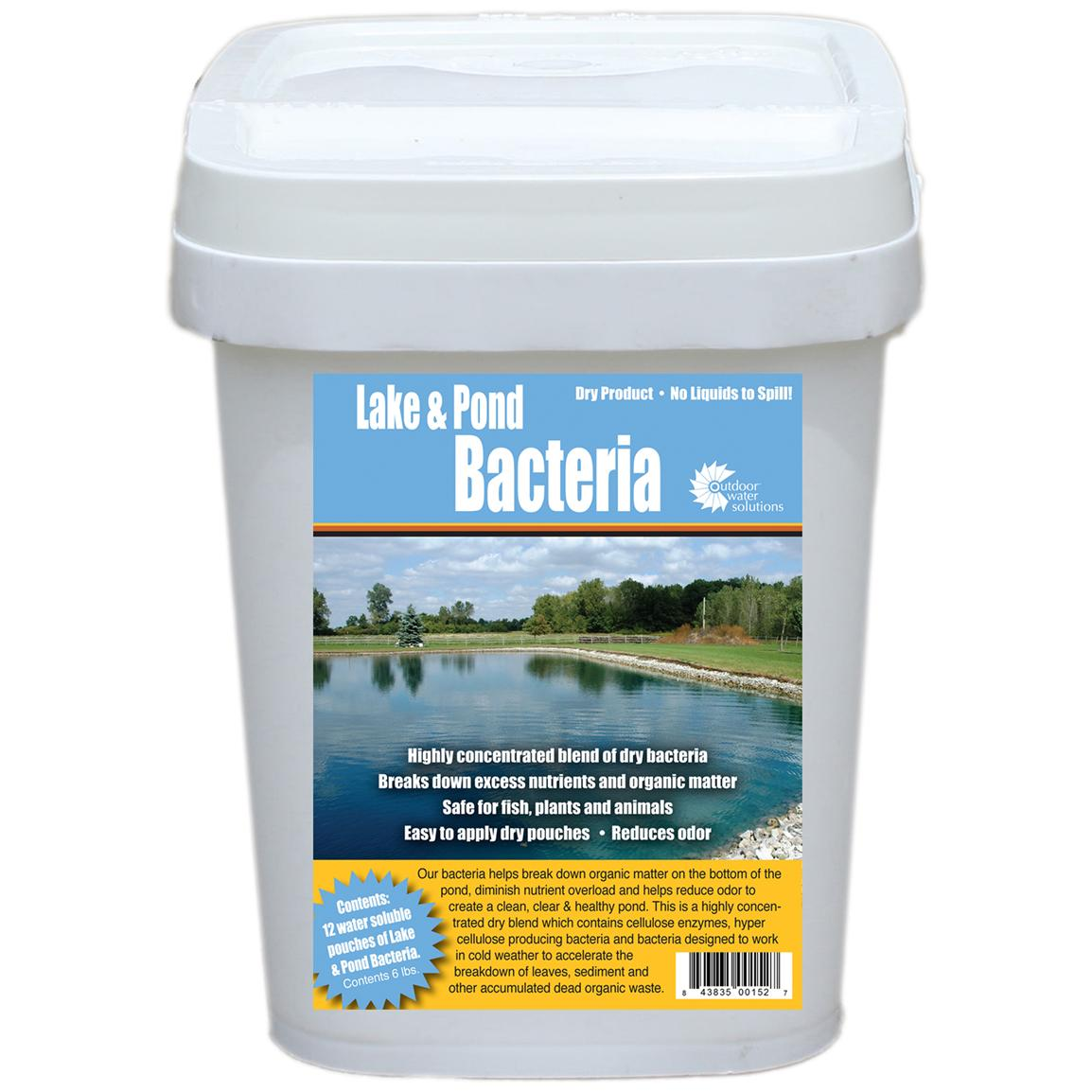 Outdoor Water Solutions® 6-lb. Lake and Pond Bacteria Pack