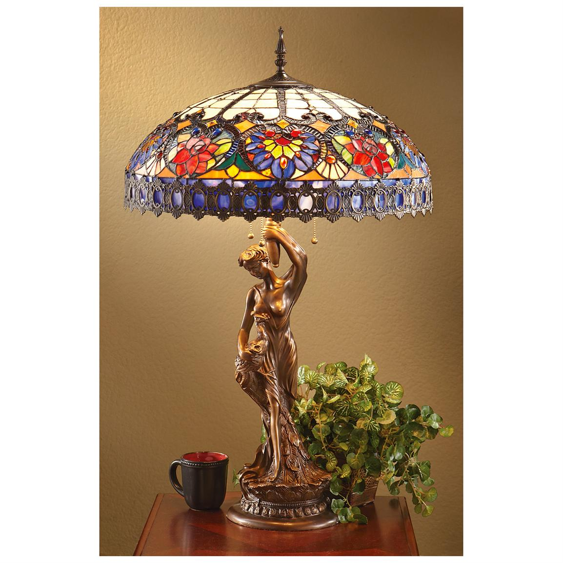 37 inch Tiffany-style Table Lamp