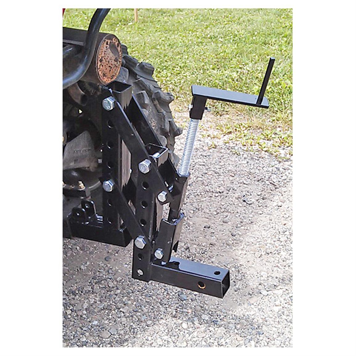 Impact Implements ATV / UTV 1-point Lift System; Lots of height adjustment options