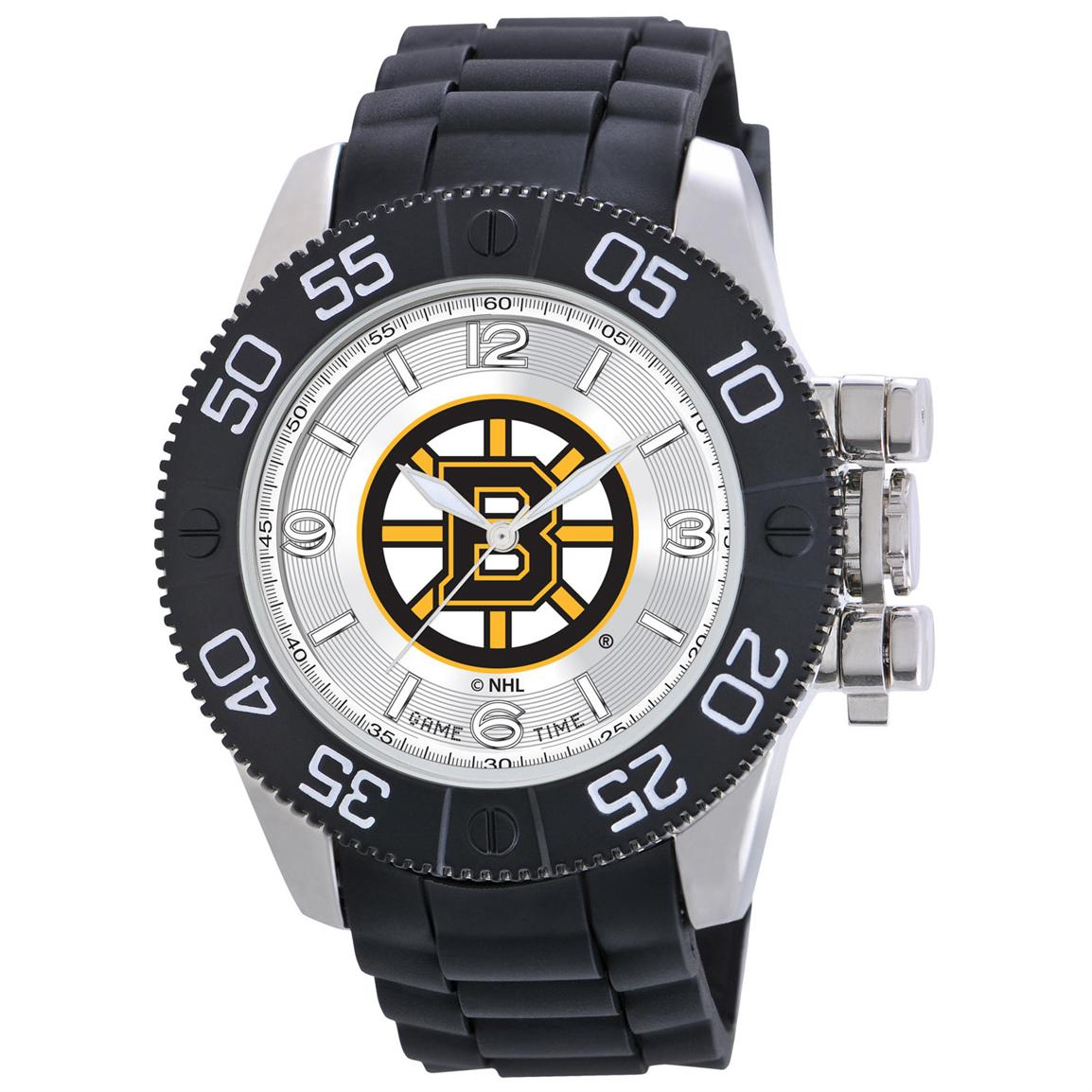 Game Time NHL Beast Series Watch, Boston Bruins