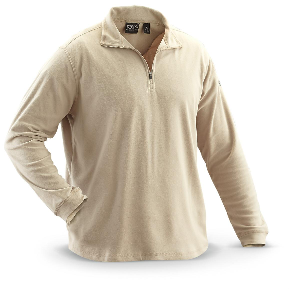 Dri-Duck® Element 1/4-zip Fleece Pullover, Tawny