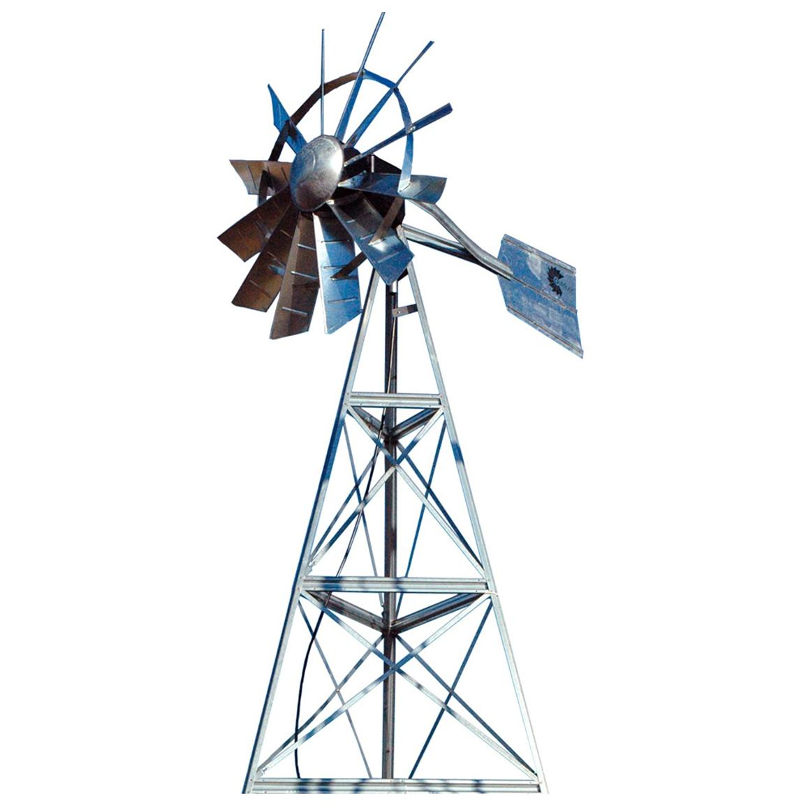 Outdoor Water Solutions 12 foot Windmill Aeration System