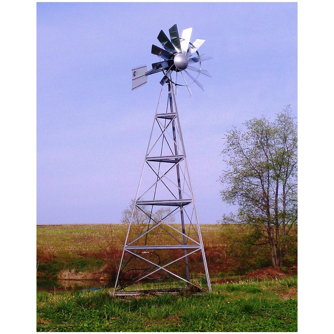 Outdoor Water Solutions 20 foot Windmill Aeration System