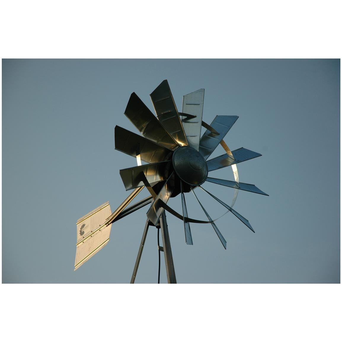 Outdoor Water Solutions Ornamental Windmill Head