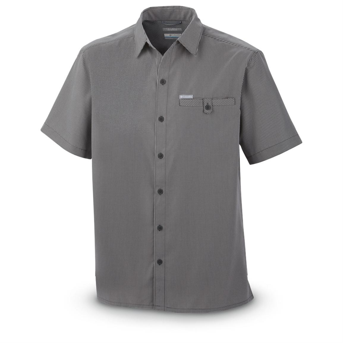 Columbia® Declination Trail™ YD Short-sleeved Shirt, Grill