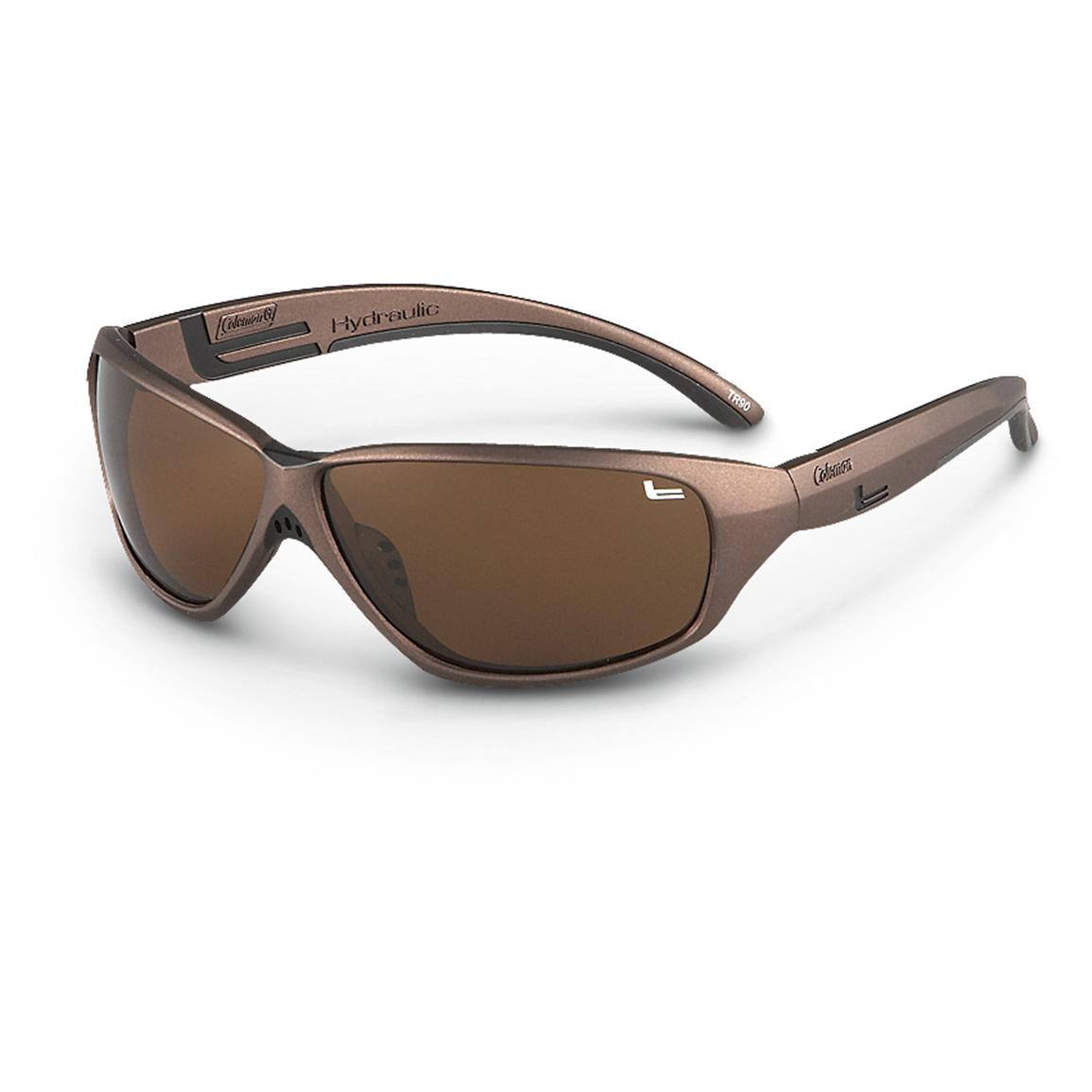 Coleman® Polarized TR90 Sunglasses, Brown