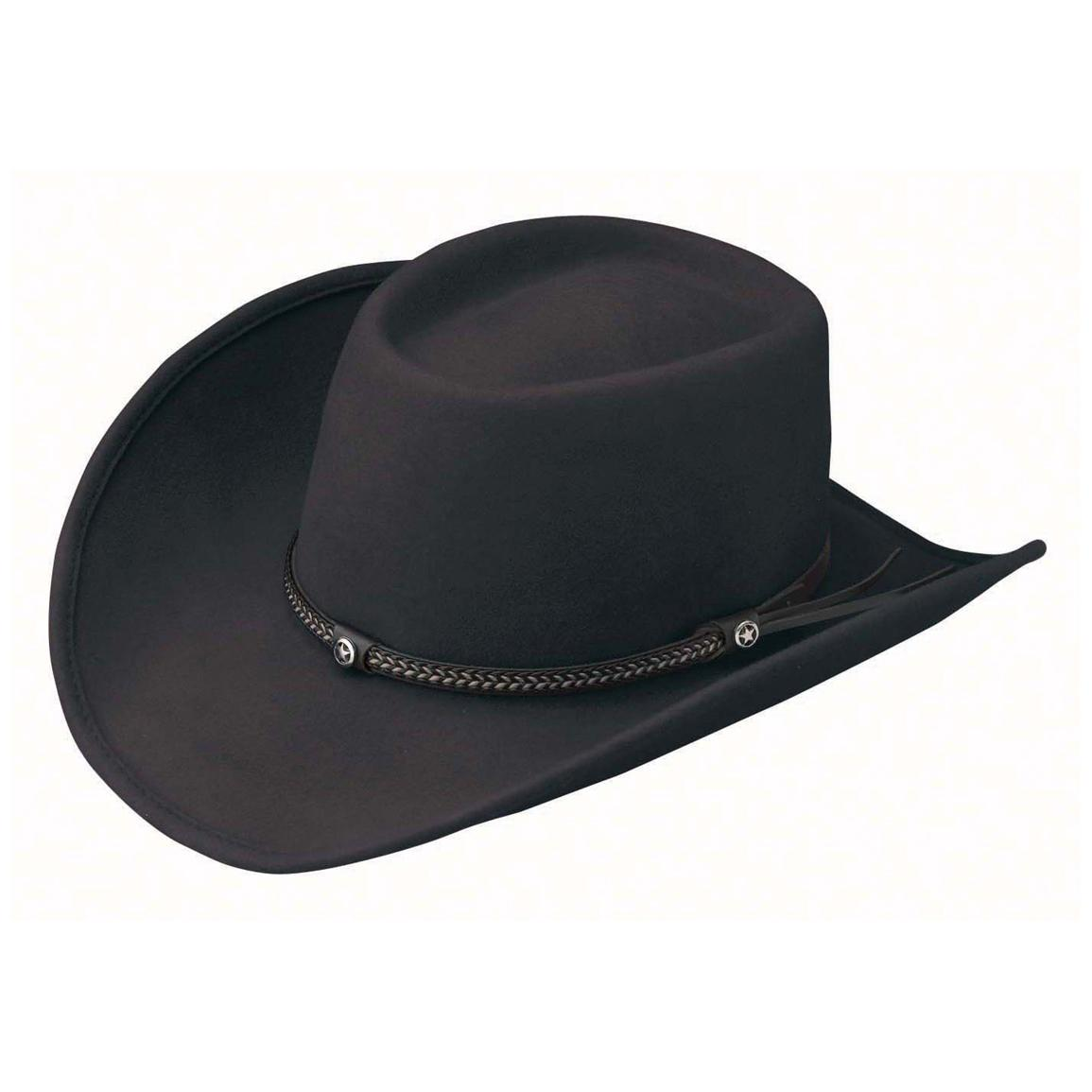 Outback Trading Durango Hat, Black