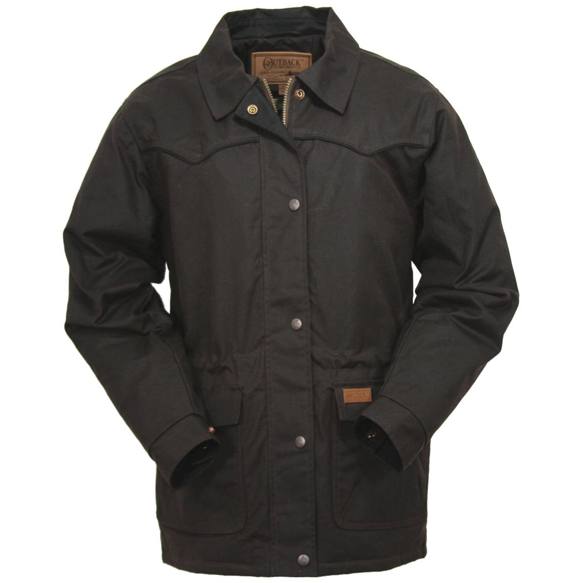 Women's Round Up Jacket from Outback Trading Company®, Bronze
