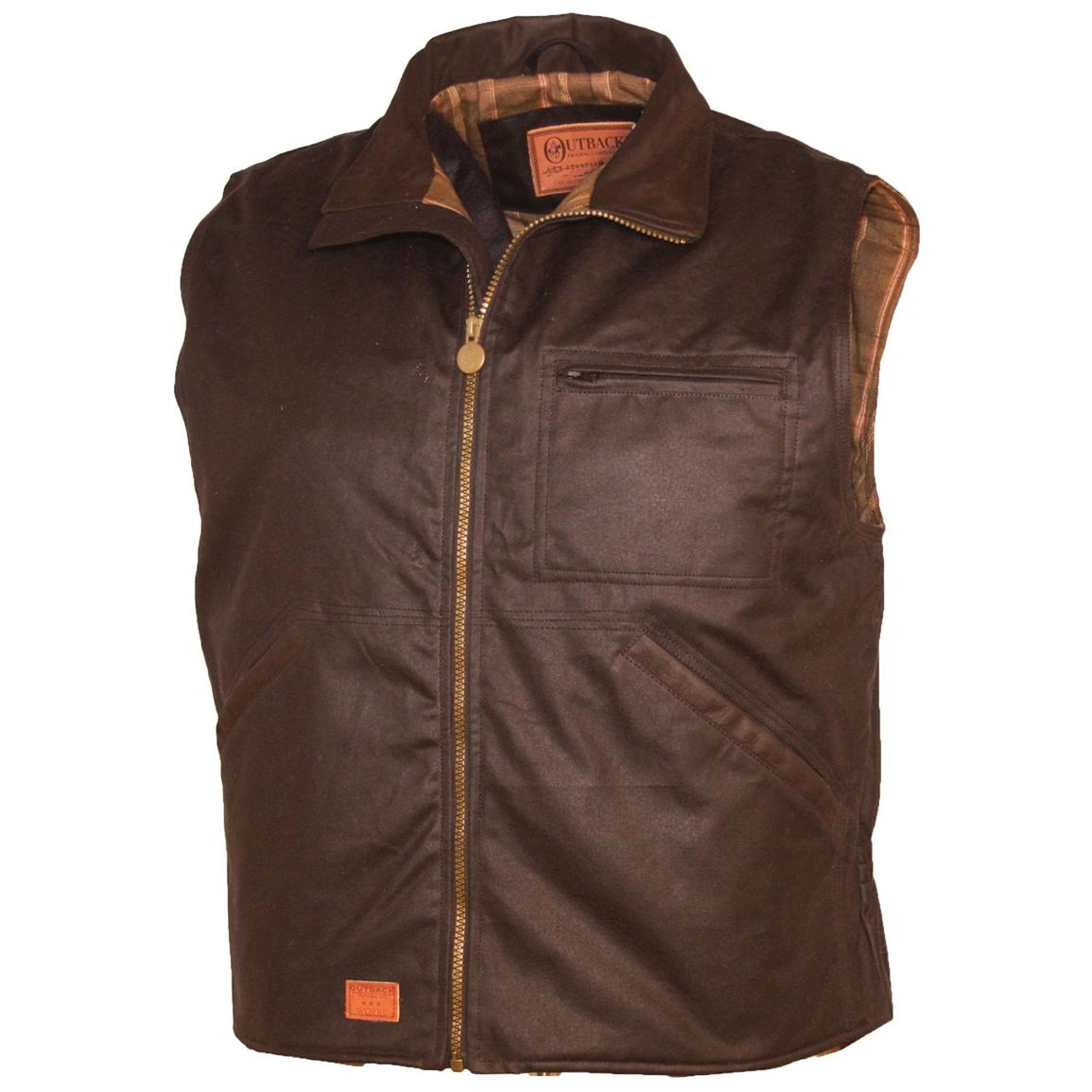Outback Trading Company® Sawbuck Vest, Bronze