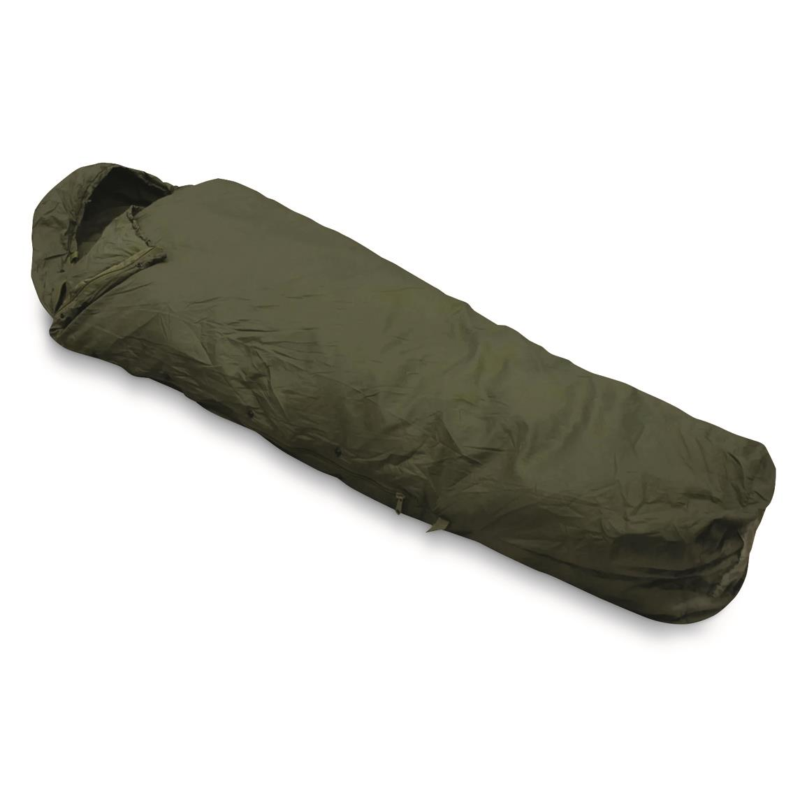 U.S. Military Surplus Patrol Sleeping Bag, Used