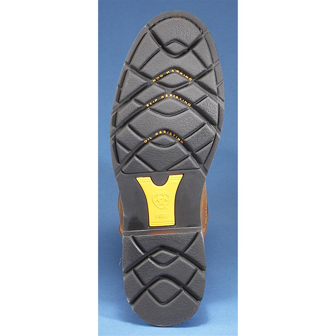 Abrasion-resistant rubber outsole