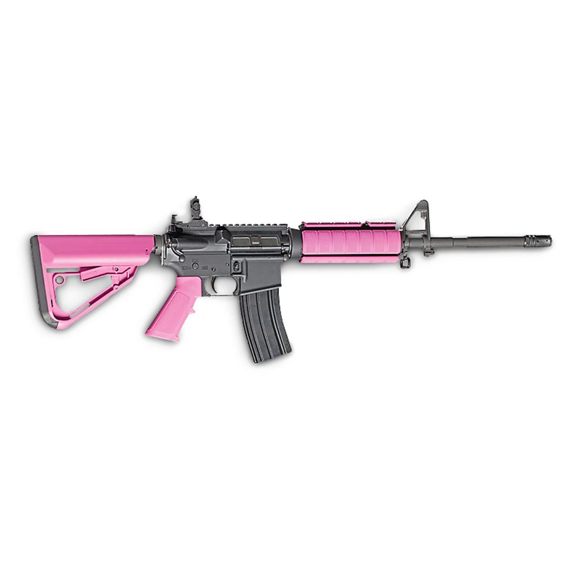 Red Jacket Firearms TI-7 AR Stock Set, Pink
