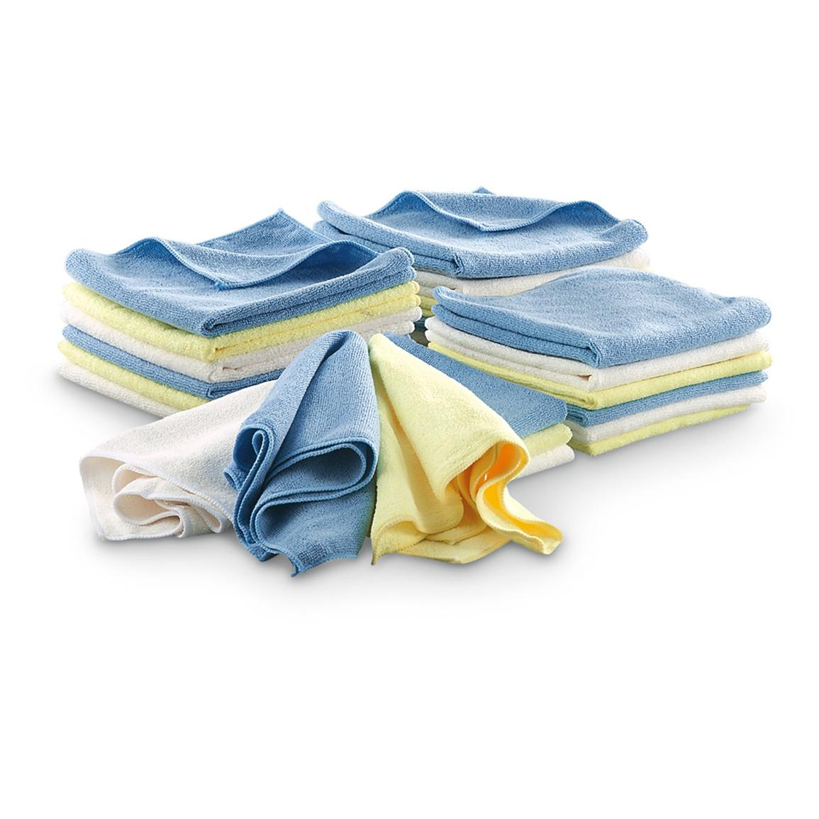 24 Microfiber Cleaning Cloths