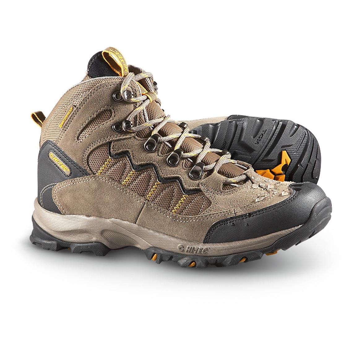 Men's Hi - Tec® Ocala Waterproof Hiking Boots, Smokey Brown ...