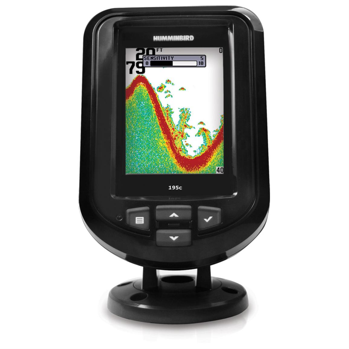Humminbird® PiranhaMAX 195C Color Fishfinder